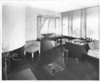 J. N. Brown House, interior office-den