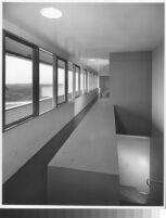 J. N. Brown House, interior upper hallway with eastern ocean view