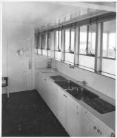 J. N. Brown House, interior kitchen