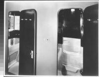 J. N. Brown House, interior copper bathroom in situ, Dymaxion