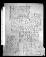 Los Angeles Times circulation map, 1927