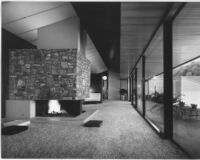 Dailey House, interior livingroom