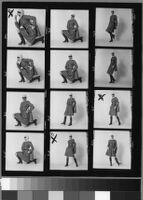 Contact sheets of Cashin's ready-to-wear designs for Sills and Co.  Folder 2 of 2.