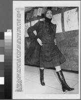 Black and white photographs of Cashin's ready-to-wear designs for Sills and Co.