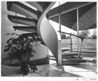 Friedland House, interior staircase