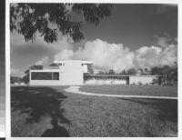 De Schulthess House, exterior side view [photograph]