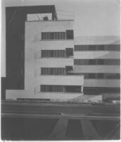 Jardinette Apartments,  exterior view street level