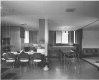 Kambara House, interior kitchen and dining area