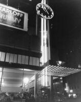 Coco Tree Restaurant, exterior facade at night