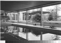 Kemper House, interior enclosed swimming pool