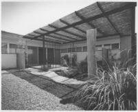 Le Moore, Tiffany House, exterior patio and garden