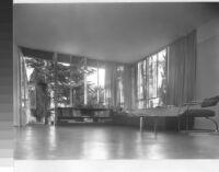 Richter House, interior livingroom