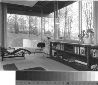 Pescher House, interior [master bedroom?]