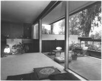 Ohara House, interior livingroom and terrace