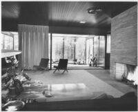 O'Brien House, interior livingroom