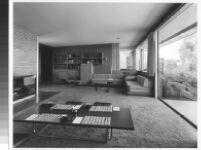 Schwind House, interior livingroom