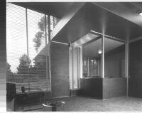 Scholts Advertising [Agency] Building, interior reception area