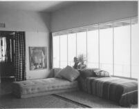 Galka Scheyer House, interior livingroom