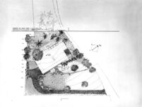Grelling House, site plan