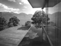 Bucerius House, exterior, reflecting pool/water mirrors and terrance