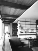Bucerius House, interior study-home office