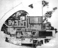 Sontheim House, floor plan ground floor