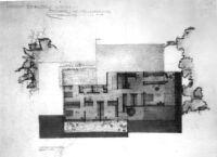 Sontheim House, floor plan upper story