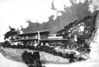 Sontheim House, rendering exterior
