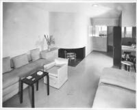 J. N. Brown House, interior guestroom