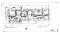 J. N. Brown House, floor plan second floor