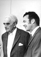 Richard J. Neutra and his son, Dion