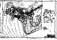 Van Sicklen House, floor and site plan