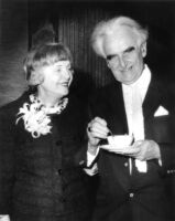 Richard J. Neutra and his wife, Dione