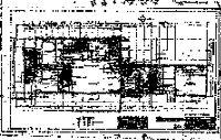 Van Sicklen House, floor and electrical plan