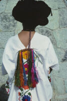 Ylalag, back view of woman dancer, 1985
