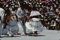 Macuiltianguis, dancers, 1985