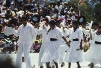 San Pedro Cajonos, dancers, 1985