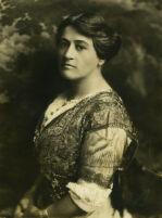 Katherine Philips Edson, portrait of Edson in beaded dress