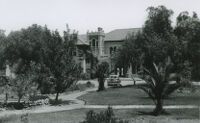 Elisnore Naval and Military Academy, driveway