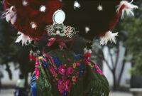 Saints Day, back of large headdress, 1982