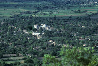 Oaxaca, aerial view, 1982 or 1985
