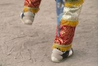 Saints Day, dancing feet, 1982