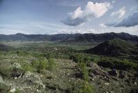 Oaxaca, landscape, 1982 or 1985