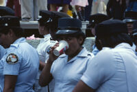 Oaxaca, policewomen, 1982 or 1985