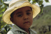 Oaxaca, face of boy, 1982 or 1985