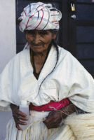 Oaxaca, old woman, 1982 or 1985