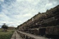 Monte Albán Site, steps, 1982 or 1985