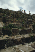Monte Albán Site, steps, 1982 or 1985