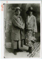 Gertrude Stein and Alice B. Toklas, 1928