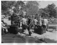 Horace Tapscott and the Pan Afrikan Peoples Arkestra performing at UCLA in 1981 [descriptive]